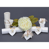 Wedding Menu Scrolls